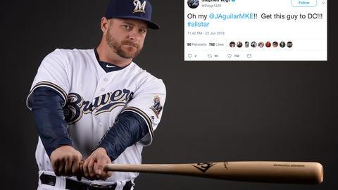 Stephen Vogt, Brewers catcher
