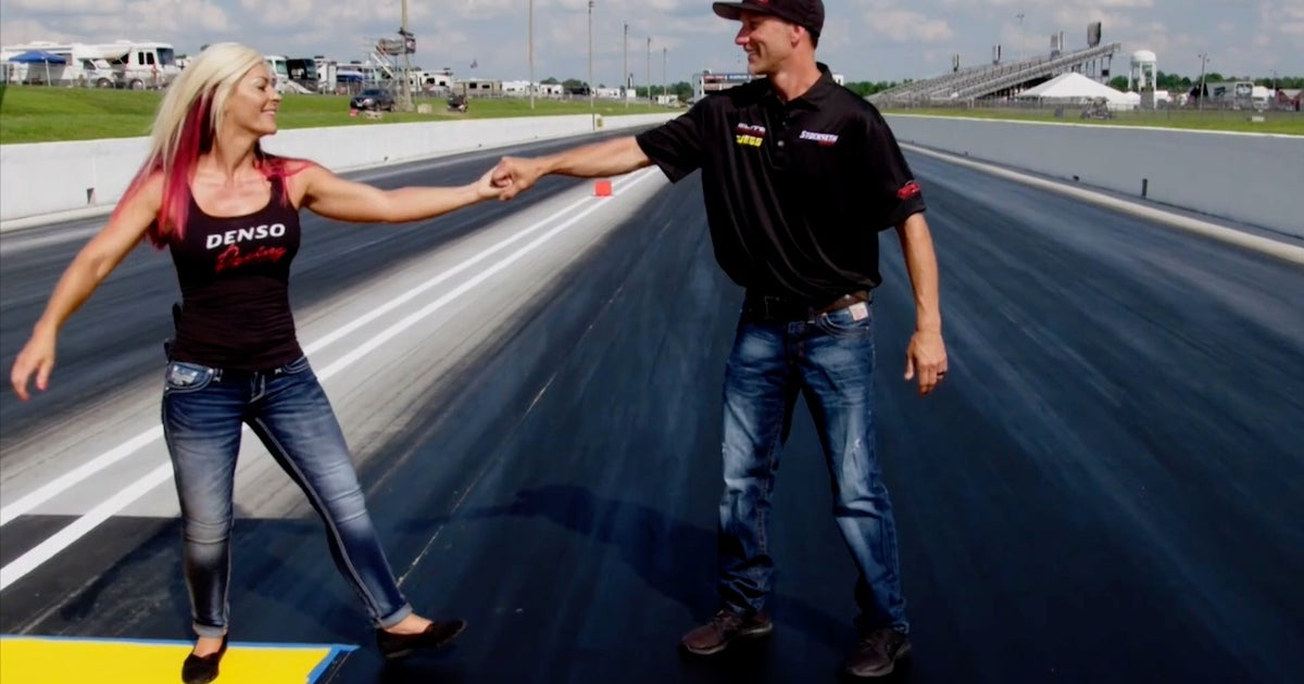 walk  feet  angie matt smith  nhra drag racing fox sports