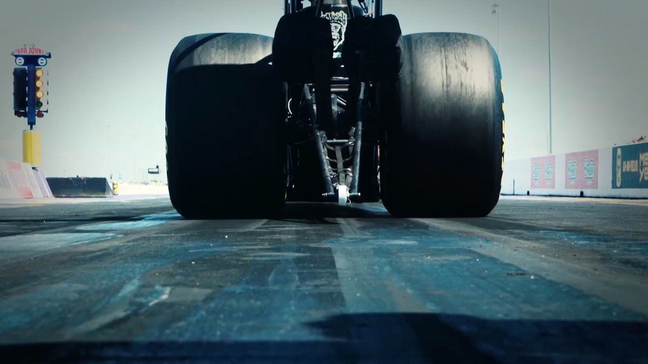 The science behind the massive 48-pound Top Fuel tires | 2018 NHRA DRAG  RACING