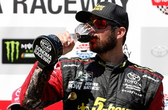 Winner's Weekend: Martin Truex Jr. – Sonoma