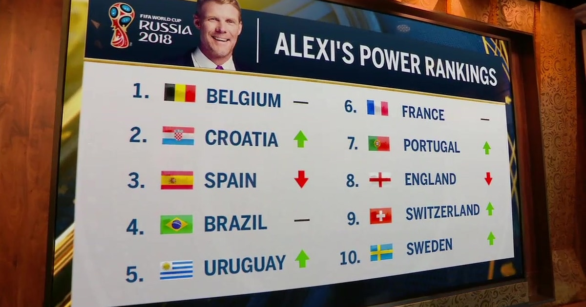 Alexi Lalas Power Rankings Ahead Of The Round Of   Fifa World Cup Live Fox Sports