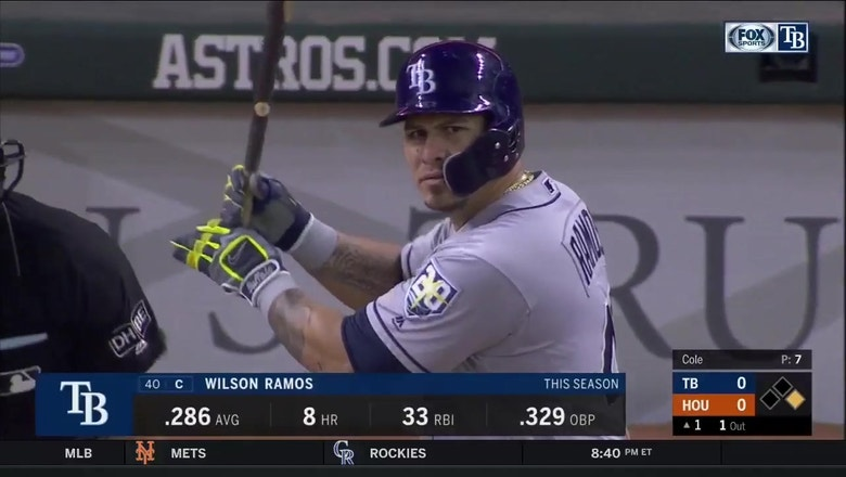 WATCH: Rays on the attack in early vs. Astros