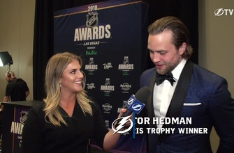 Victor Hedman on the 'surreal' experience of winning the Norris Trophy