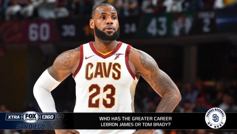 Who has had the better career between LeBron James and Tom Brady?