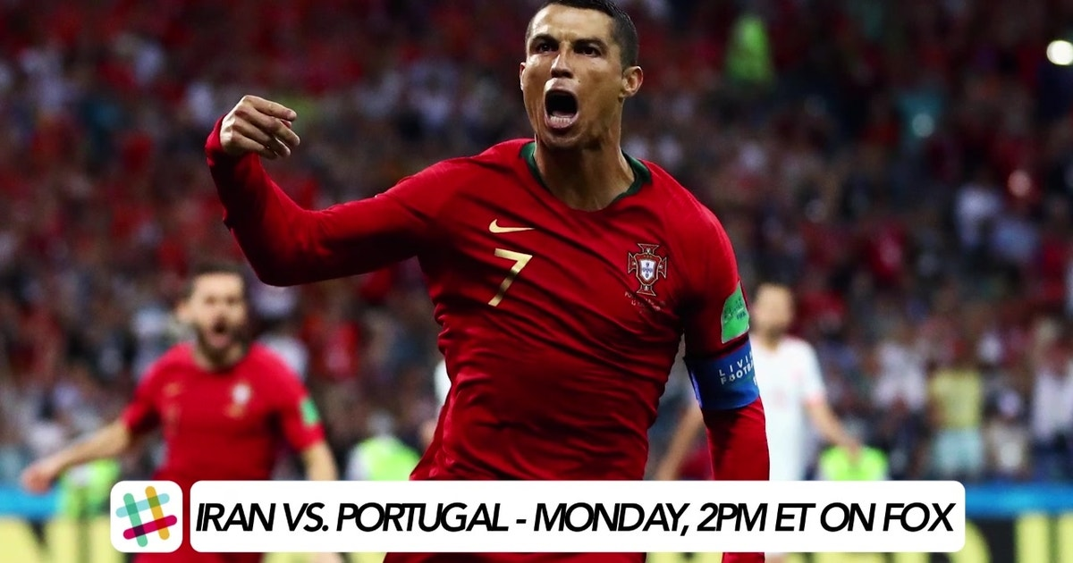 cristiano ronaldo and portugal to triumph over iran