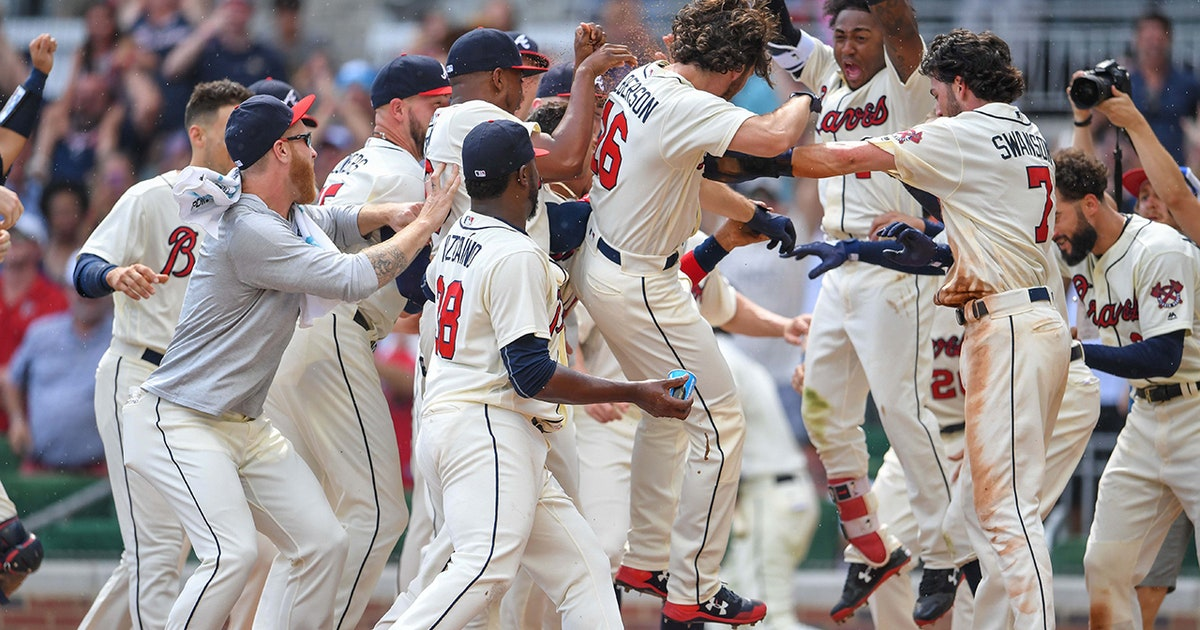 Braves LIVE To Go: Charlie Culberson delivers another walk-off homer to sink Nats   FOX Sports