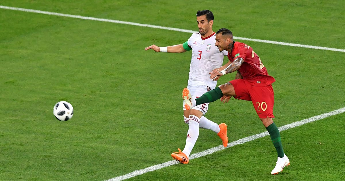 Image result for quaresma goal world cup 2018