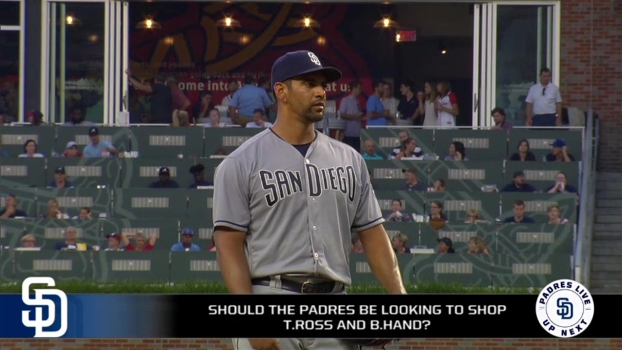 pretty nice 2e0dc 0297d Should the Padres shop Ross and Hand at the trade deadline?