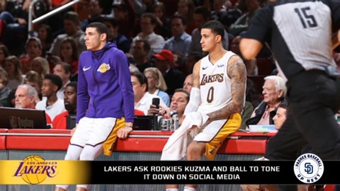 Should the Lakers trade Lonzo Ball  f9c520f1a