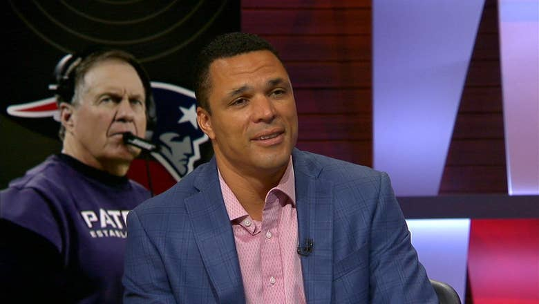 Tony Gonzalez discusses which side Patriot fans should be on between Tom Brady and Bill Belichick