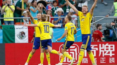 World Cup: Sweden vs. Mexico