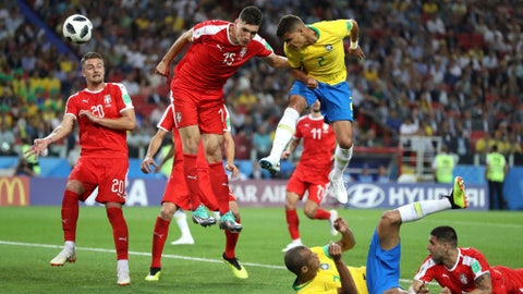 World Cup: Serbia vs. Brazil