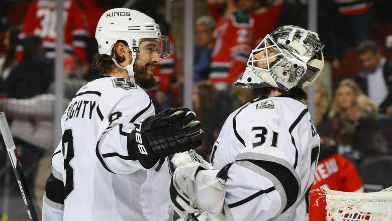 LA Kings make first offseason trade, re-acquire G Peter Budaj from Lightning