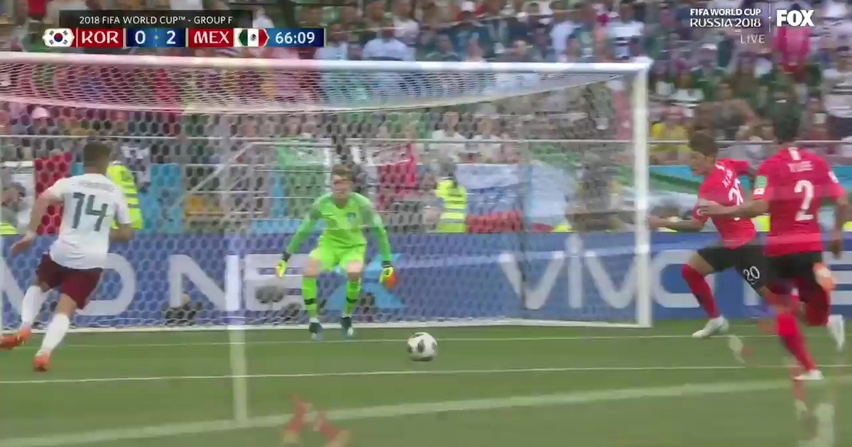 cc62399643d Chicharito caps an outstanding run to give Mexico a 2-0 lead