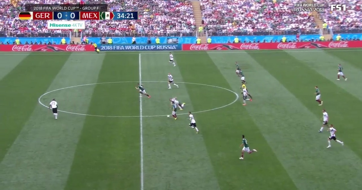 99608e8ed Watch Mexico s beautiful first goal vs. Germany