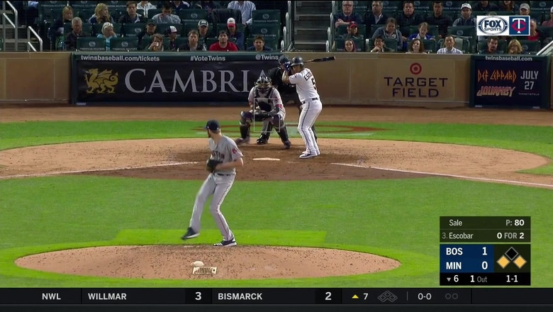 WATCH: Twins' Escobar delivers go-ahead double