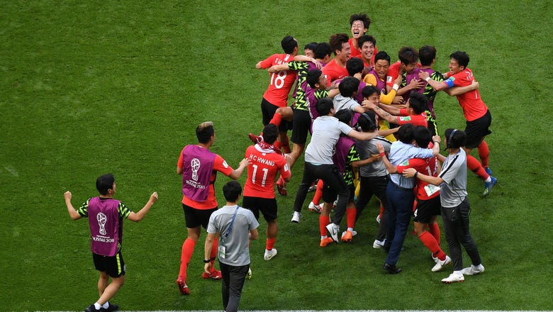 Watch another angle of South Korea's late game-clinching goal to knock Germany out of the FIFA World Cup
