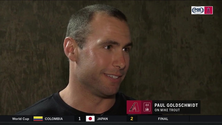 Game recognize game: Paul Goldschmidt has high praise for Mike Trout