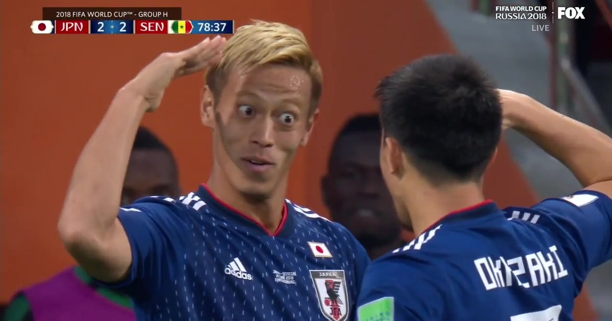 f655531d3 Japan counters with another equalizer for the 2-2 draw vs. Senegal ...