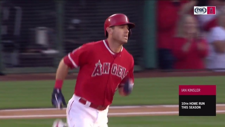 Ian Kinsler smacks lead-off home run to get Angels rolling
