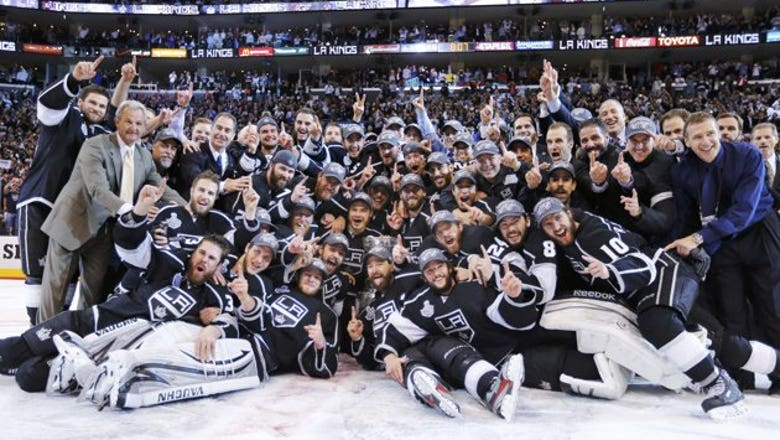#MondayMotivation: On this date six years ago the Los Angeles Kings took home the Stanley Cup