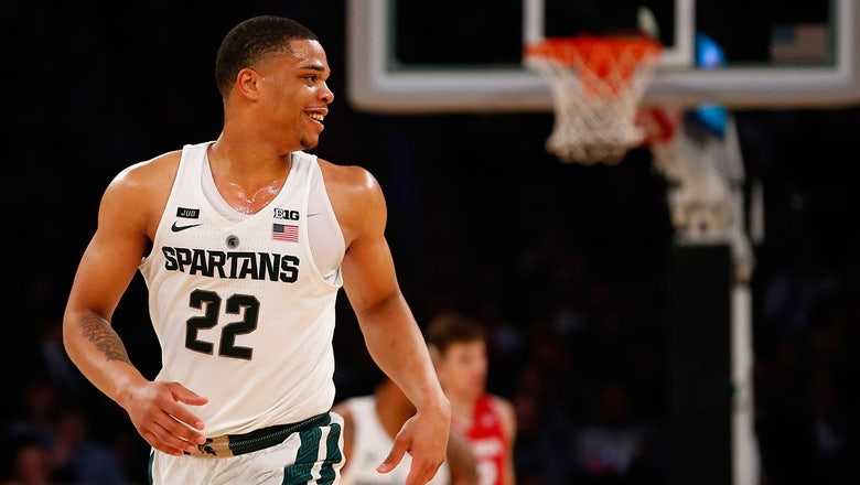Hornets select Michigan State forward Miles Bridges with 2018 first-round pick