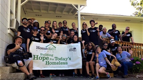 Beautification project with HomeAid at Clifton Sanctuary Ministries