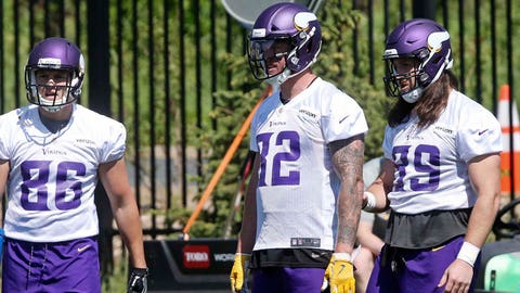 What's up with Kyle Rudolph?