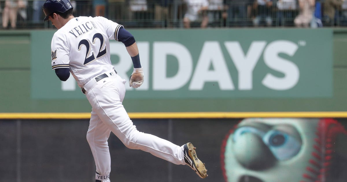 Brewers' Christian Yelich cruising into clash with Cubs