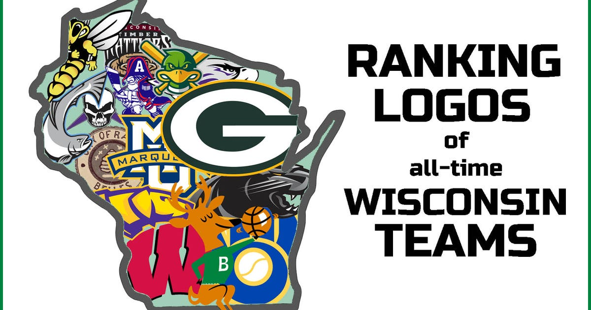Ranking Logos Of All Time Wisconsin Teams Fox Sports