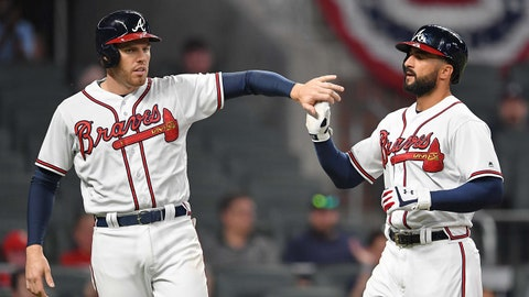 1. Freddie Freeman and Nick Markakis on pace to make Braves history