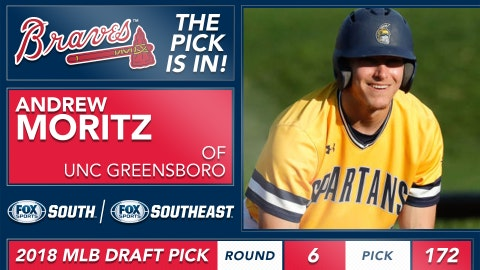No. 172: OF Andrew Moritz, UNC Greensboro