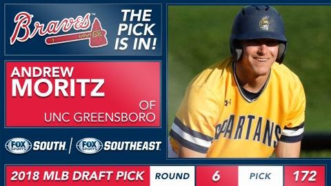 No. 172: OF Andrew Moritz, UNC Greensboro