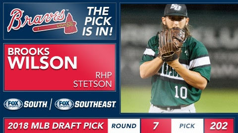 No. 202: RHP Brooks Wilson, Stetson