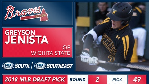 No. 49: OF Greyson Jenista, Wichita State