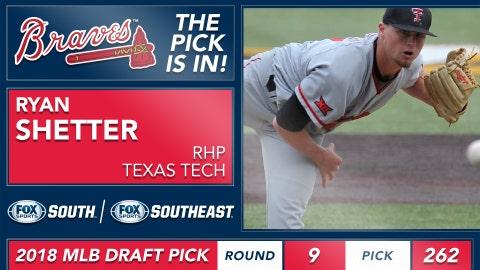 No. 262: RHP Ryan Shetter, Texas Tech