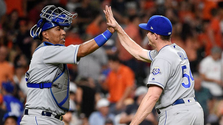 Ninth-inning rally lifts Royals past Astros, snapping long losing streak