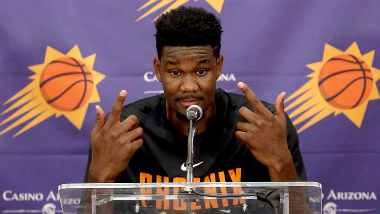 Ayton works out for Suns, says 'I know I'm going No. 1'