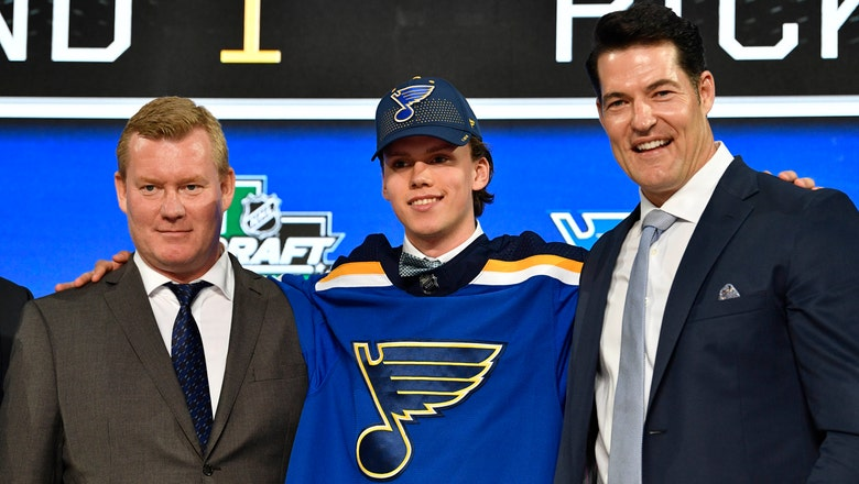 Blues sign first-round pick Bokkto three-year, entry-level contract