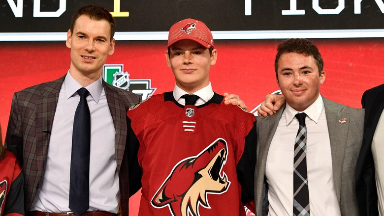Coyotes nab Hayton with fifth pick in NHL draft