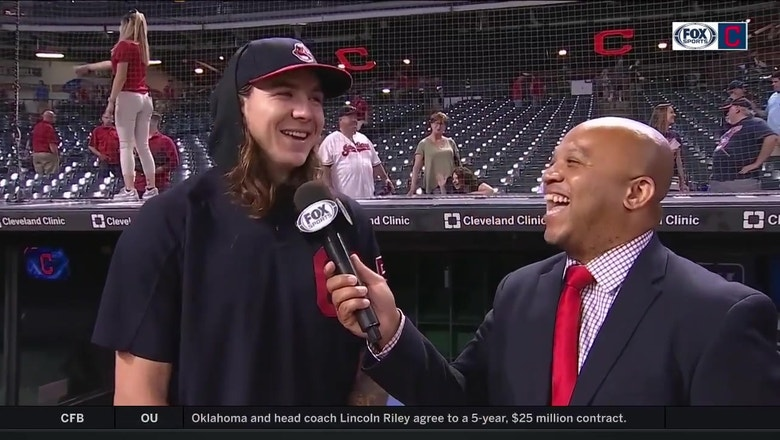 Mike Clevinger jokes his breaking stuff is better than Trevor Bauer's