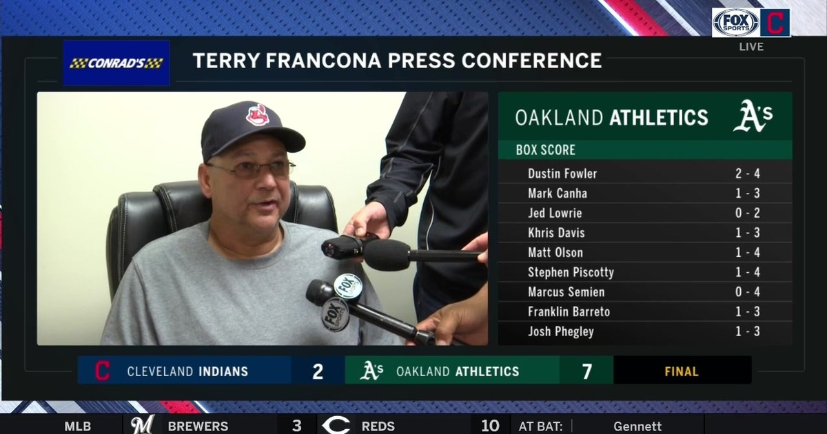 Terry Francona: No specific reason for Indians' drastic home/away splits | FOX Sports