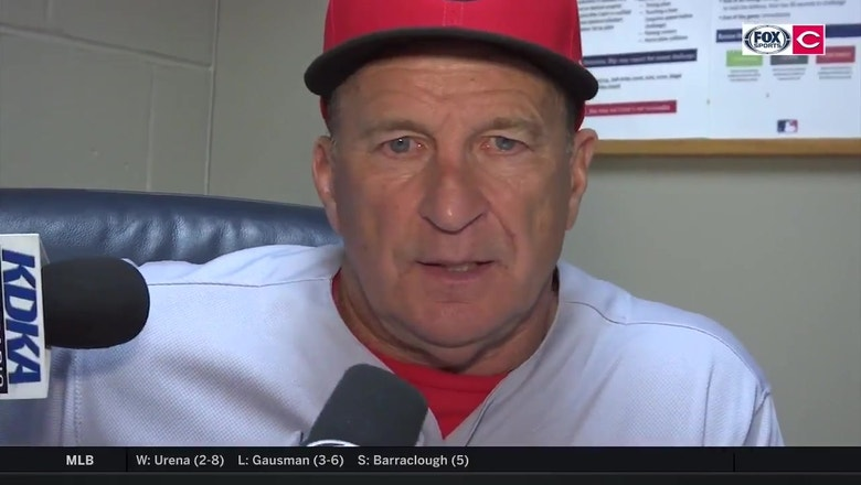 Jim Riggleman feels like the Reds let the Pirates off the hook after loss
