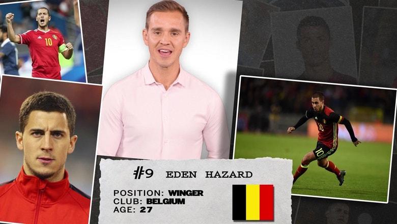 Stu Holden's 50 players to watch in Russia: #9 Eden Hazard