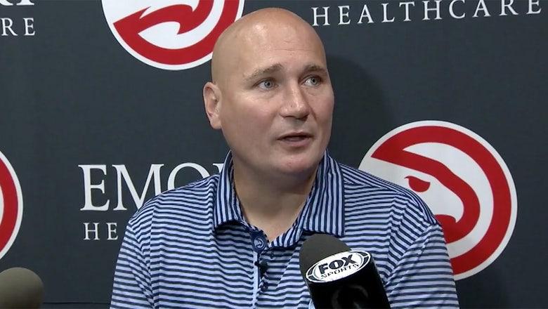 Hawks GM Travis Schlenk embraces team's options in 2018 draft