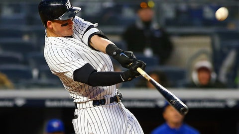 3. Tyler Austin - New York Yankees