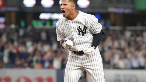 1. Gleyber Torres - New York Yankees