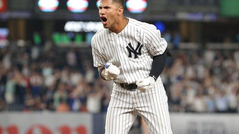 1. Gleyber Torres - New York Yankees