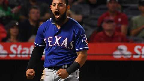 Odor completes double play with Simmons seeking payback