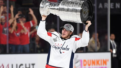T.J. Oshie, Capitals forward/Warroad native (↑ UP)